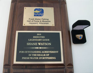 Lake Lanier Fishing Guide Shane Watson Inducted into The Fresh Water Fishing Hall of Fame.